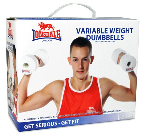 WII Lonsdale Variable Weight Dumbbells