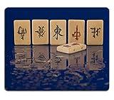 MSD Gaming tapis de souris en caoutchouc naturel d'image: 1311323Pierre carrelage avec hiéroglyphes sur une surface mouillée