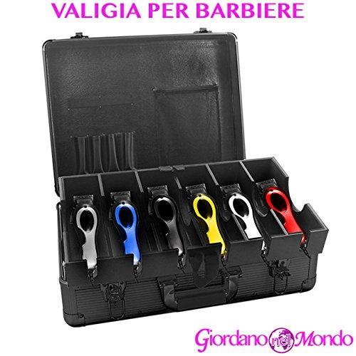 Valise Porte Outils avec compartiments pour Barbieri professionnelle pour tondeuse