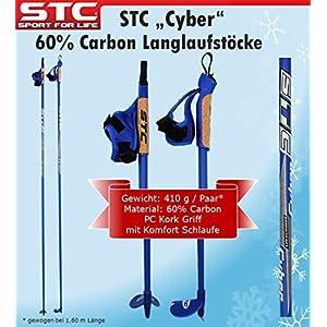 STC 60% Carbon Langlauf Stöcke Cyber 170 cm