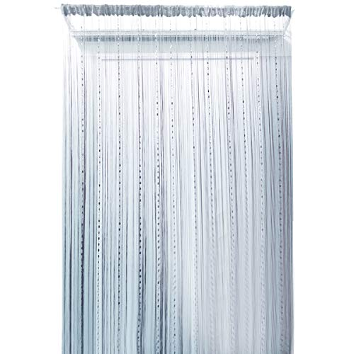 ISABELLE Rideau perlé suspendu Rideau décoratif Rideau de perles Rideau de  porte Rideau de fils pour 0d5a3e0b6158