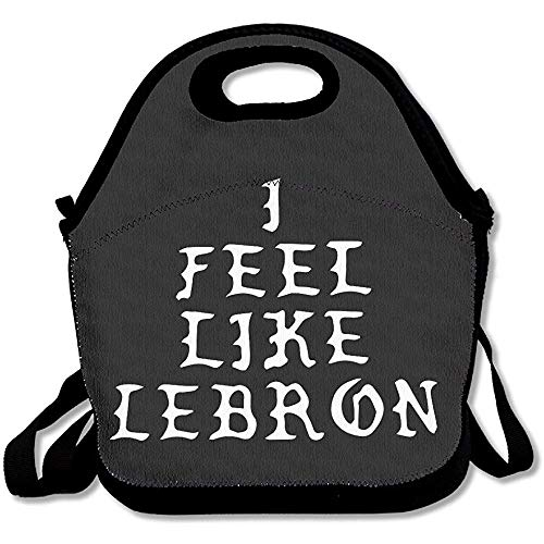 Me siento como Lebron Lunch Bag Lunch Tote