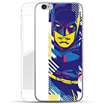 Justice League Série Coque Pour Iphone - Batman portrait, Iphone 6 Plus / 6S plus