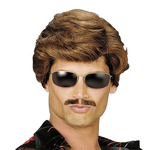 z, 70er 80er-Cop verwenden Verkäufer Wham Porn Star Prop Kostüm ()