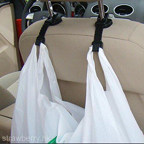 & # xff08; wählen Sie schwarz oder weiß Hohe Qualität Auto Lagerung Organizer Kunststoff Tasche Halter ()