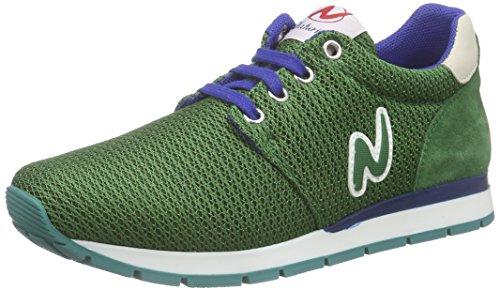 Naturino Naturino Petra Unisex-Kinder Sneakers Grün (RETE/VELOUR VERDE)
