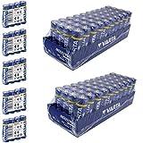 100 x Varta 04006 Batterien Alkaline, Mignon, AA,...