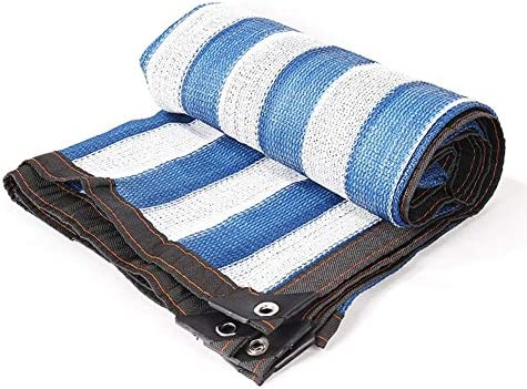 Ombrellone Balcone Giardino Giardino Fiore Isolante Netto Crittografia A A A 8 Pin - Blu E Bianco (dimensioni   2X4m) | Sale Online  | a prezzi accessibili  d108d9