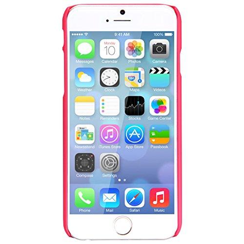 Urcover® iPhone 6 Plus 6S Plus Hülle, Frosted Series Handy Tasche Schutzhülle Back Case Cover Smartphone Zubehör Schale Polycarbonat Handyhülle für Apple iPhone 6 Plus / 6S Plus Farbe: Braun Rot