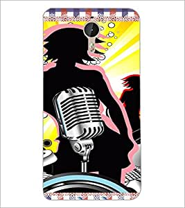 PrintDhaba Music D-4216 Back Case Cover for LETV LE 1 PRO ULTRA (Multi-Coloured)