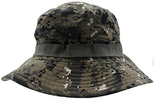 2269d98188ff2 Hombre Camo Digital Australiano Sombrero Estilo con la barbilla cord - 58cm