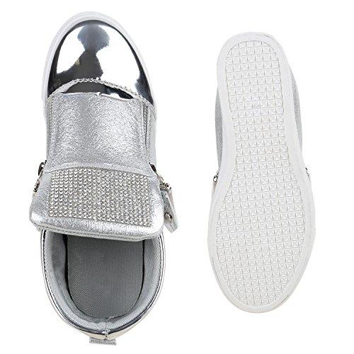 Da Das Cunha Sapatilhas Metálicos Sapatilha Calcanhar Prata De Cunhas Pintar Do Sapatos Senhoras xaddtrq1Y