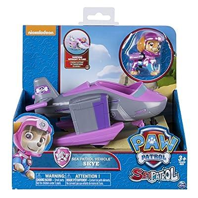 Paw Patrol Basic Vehicle Sea Patrol Skye vehículo de juguete - vehículos de juguete (Gris, Rosa, 3 año(s), Niño/niña, Interior, 1 pieza(s), 6638 pieza(s)) de Spin Master