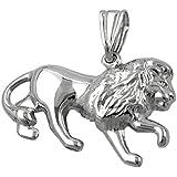 bijoux Pendentif argent 925 lion G90306