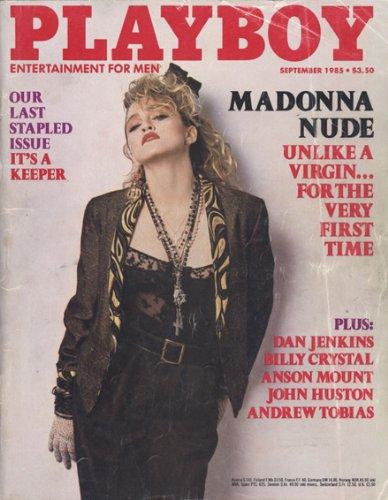 Playboy Sept 1985 Madonna Art Print by Madonna Magazine Covers