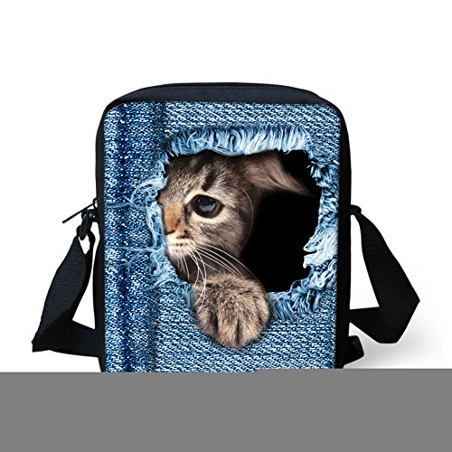 showudesigns , Borsa Messenger  blu color 4 color 2