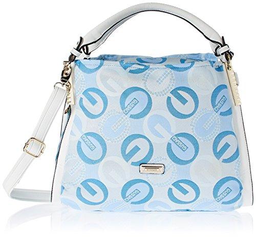 Gussaci Italy Women's Handbag (Blue) (GC607)