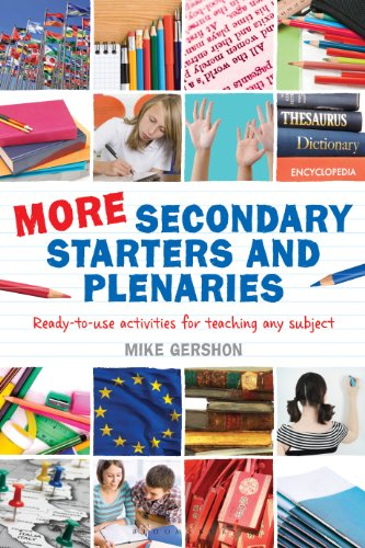 more-secondary-starters-and-plenaries-creative-activities-ready-to-use-in-any-subject