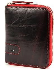 Zwei Geldbörse Lino L1 brown red
