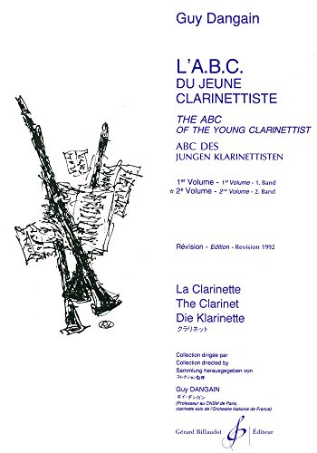 L'ABC du Jeune Clarinettiste Volume 2 por Dangain Guy