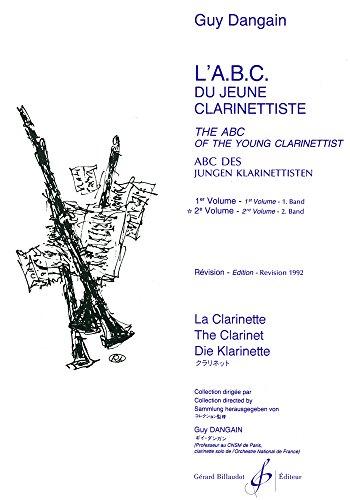 L'ABC du Jeune Clarinettiste Volume 2 par Dangain Guy