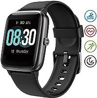 UMIDIGI Uwatch3 Smartwatch Fitness Tracker Herrenuhr 5 ATM wasserdichte Smart Watch Armbanduhr Pulsuhr Schrittzähler mit...