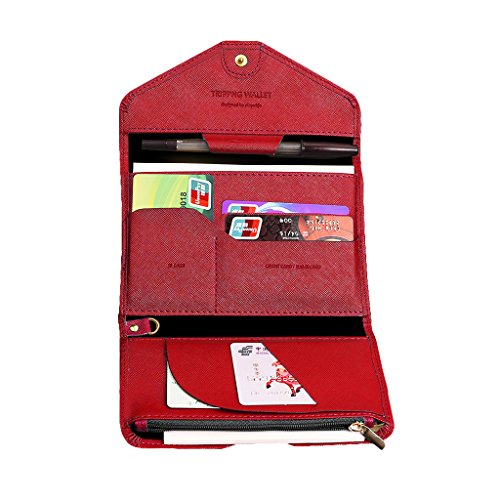 mulit-purpose-rfid-blocking-waterproof-pu-leather-passport-holder-wallet-trifold-travel-document-org