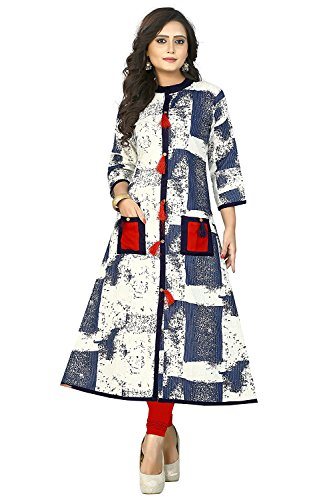 Kurti Women's Clothing Kurti for Women Latest Designer Wear - Kurti Collection...