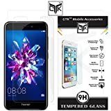 Honor 8 Lite Tempered Glass - TheGiftKart Premium HD Tempered Glass Screen Protector
