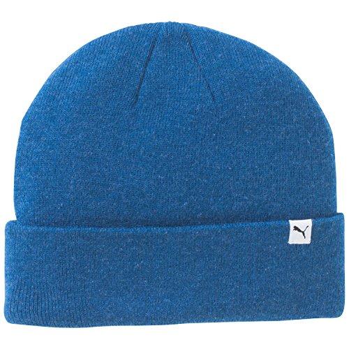 PUMA, Cappello Bambino Fold, Blu (Limoges Blue Heather), Bambino