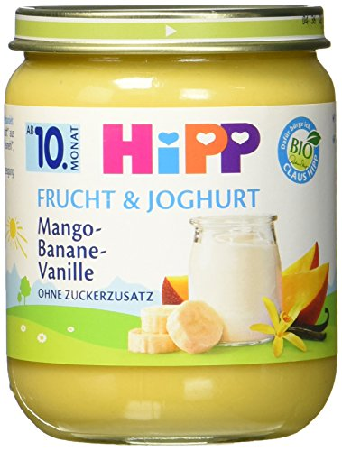 HiPP Mango-Banane-Vanille, 1er Pack (1 x 160 g) (Mango-vanille-extrakt)