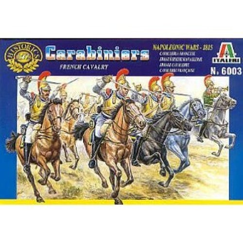 Italeri 6003 - french heavy cavalry scala 1:72