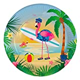 Folat 8 Party-Teller * Flamingo * für Mottoparty Oder Kindergeburtstag // Pa