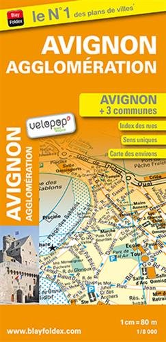 Avignon agglomération : 1/8 000