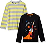 #5: Cloth Theory Boys' Regular Fit T-Shirt (Pack of 2)
