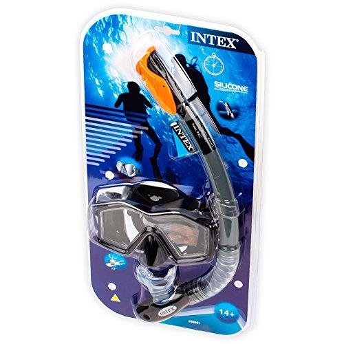 Intex Taucherset Bestehend Tauchermaske Explorer Pro Phtalates Free, 55961 -