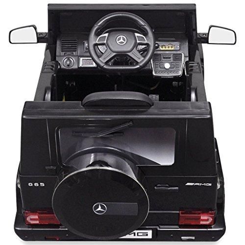 RC Kinderauto kaufen Kinderauto Bild 1: vidaXL Kinderauto 2 Motoren 2x15W Schwarz Kinder Elektroauto Kinderfahrzeug*