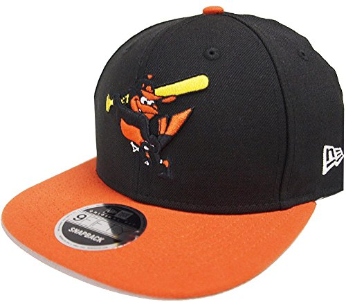 New Era Baltimore Orioles Cooperstown Classics Black Orange Snapback Cap 9fifty 950 Limited Special Edition Orioles Cooperstown Collection