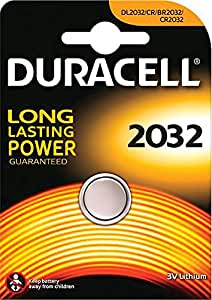 Duracell Electronics DL2032 Coin Cell 3 V Lithium Battery