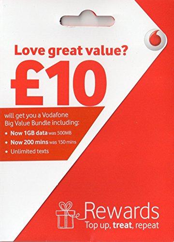 Vodafone 3G/4G Multi SIM-Karte Zahlen Sie GO für iPhone 4, 4S, 5, 5C, 5S, 6, 6S, 6+, GALAXY S2, S3, S4, S5, S6, s6-edge & Galaxy Notes 3/4/5