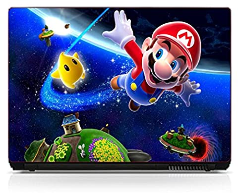 Stickersnews - Stickers pc ordinateur portable Mario Galaxy réf 6216