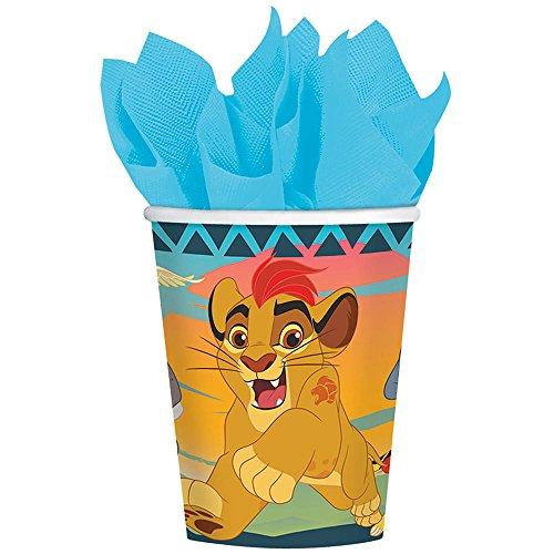 König der Löwen 8 Stk Partybecher aus Pappe - Disney König der Löwen