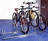 Fahrradparksystem Fahrradständer für 5 Räder hoch/niedrig