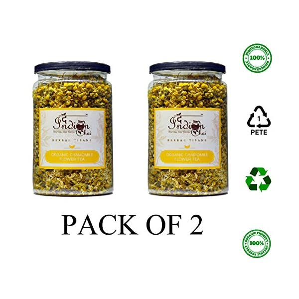 The-Indian-Chai-Organic-Chamomile-Flower-Tea-100g-Pack-of-2