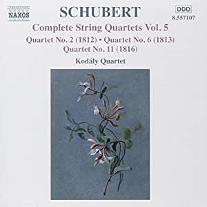 Schubert: Complete Quartets, Vol. 5
