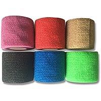 LisaCare Fixierbinde 5cm x 4,5m | 3er-Set unsortierte Farben | Kohäsive Bandage | Wundverband | Pflasterverband... preisvergleich bei billige-tabletten.eu