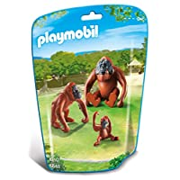 Playmobil 6648 City Life Orangutan Family