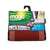 Magic Carpet Fußmatte, besonders saugstark, für Innen- und Außenbereich, klein, Terrakotta Braun