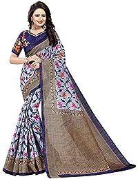 Saree(Harikrishnavilla Saree For Women Party Wear Half Sarees Art Silk New Collection 2018 In Latest With Designer...