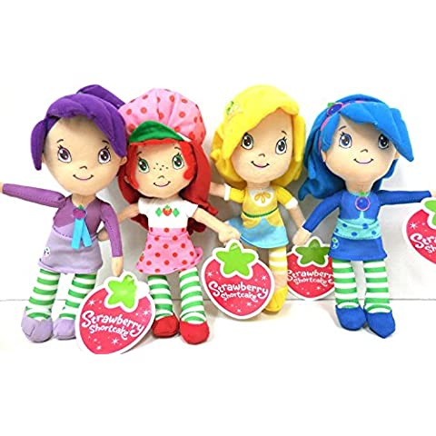 Strawberry Shortcake Plush and Friends Blueberry Muffin,